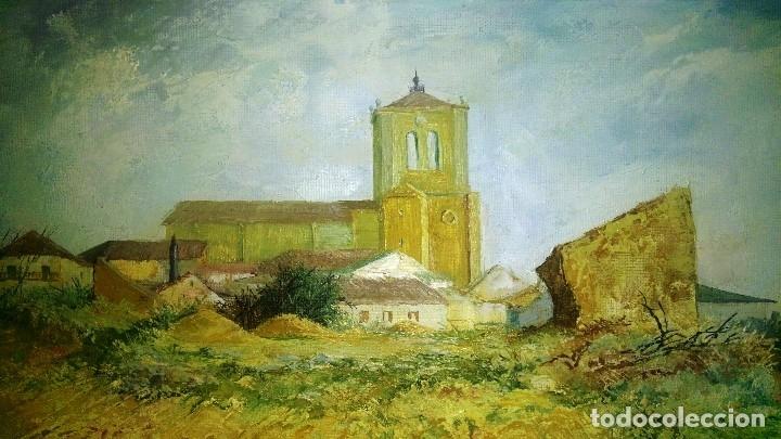Arte: Óleo sobre lienzo, Firmado Díez Valcabado. Concha Díez Valcabado. Valladolid. - Foto 2 - 115647507