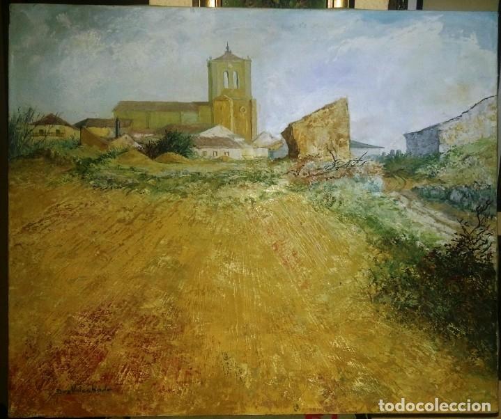 Arte: Óleo sobre lienzo, Firmado Díez Valcabado. Concha Díez Valcabado. Valladolid. - Foto 5 - 115647507
