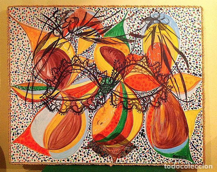 CUADRO ÓLEO PINTURA ABSTRACTAS / ROSER VIRGILI (Arte - Pintura - Pintura al Óleo Moderna sin fecha definida)