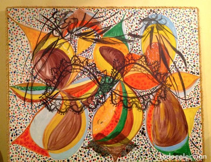 Arte: Cuadro Óleo Pintura Abstractas / Roser Virgili - Foto 2 - 115685803