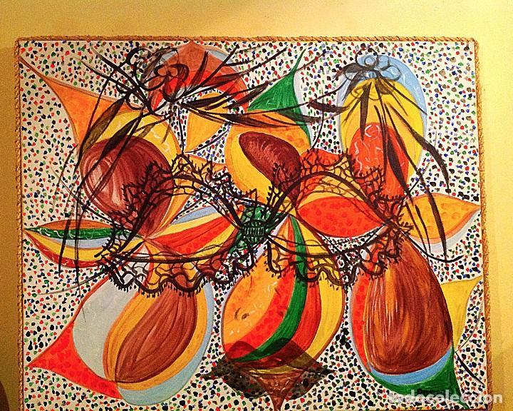 Arte: Cuadro Óleo Pintura Abstractas / Roser Virgili - Foto 3 - 115685803