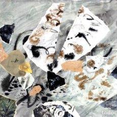 Arte: COMPOSICIÓN. COLLAGE Y TÉCNICA MIXTA. FIRMADO THARRATS. ESPAÑA. SIGLO XX. Lote 115690763