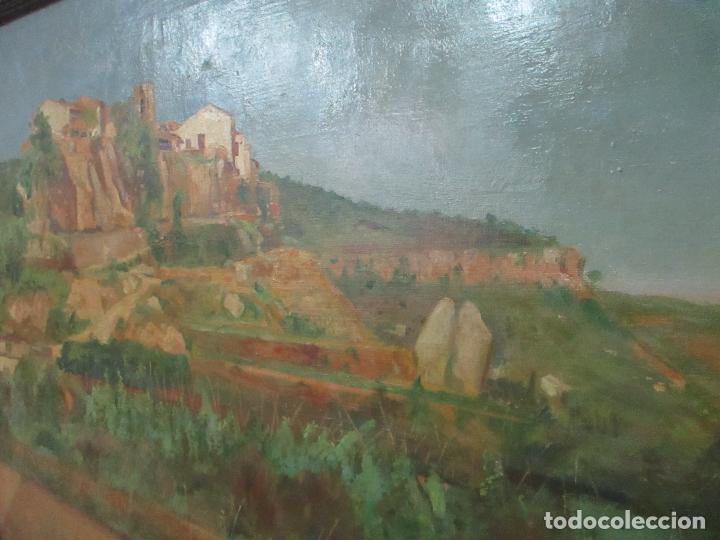 Arte: Óleo sobre Tela - Paisaje - Firma F. Carreras (Orán, Argelia 1925) - Estudió en Mallorca - Foto 6 - 115768731