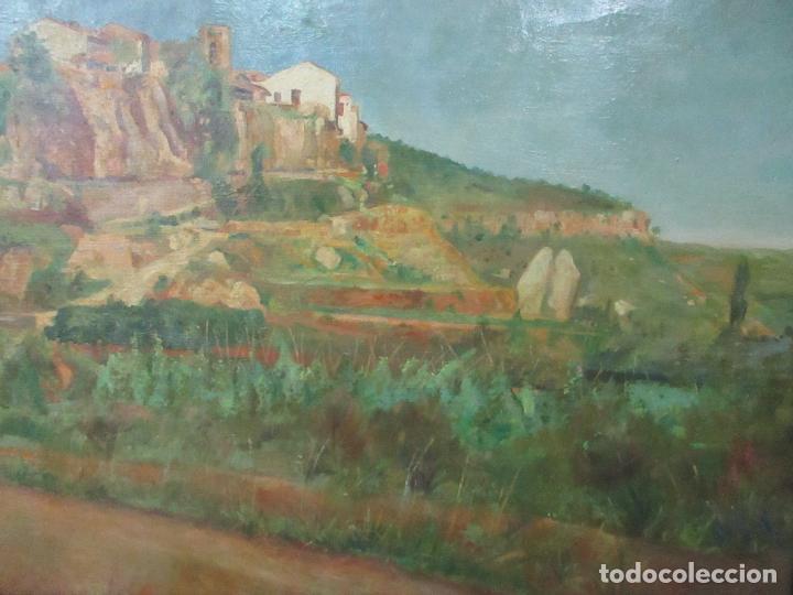 Arte: Óleo sobre Tela - Paisaje - Firma F. Carreras (Orán, Argelia 1925) - Estudió en Mallorca - Foto 7 - 115768731