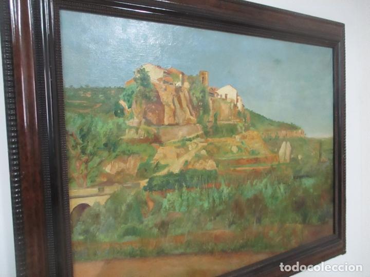 Arte: Óleo sobre Tela - Paisaje - Firma F. Carreras (Orán, Argelia 1925) - Estudió en Mallorca - Foto 13 - 115768731