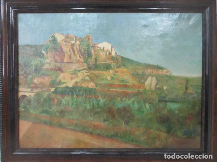 Arte: Óleo sobre Tela - Paisaje - Firma F. Carreras (Orán, Argelia 1925) - Estudió en Mallorca - Foto 14 - 115768731