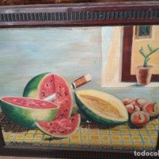 Arte: BODEGON OLEO S. XIX. M.AVELLANA. Lote 115800915