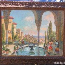 Arte - Francisco GUINART CANDELICH (1888-1974) Pintor Español - Óleo sobre tela - Granada - 115942943