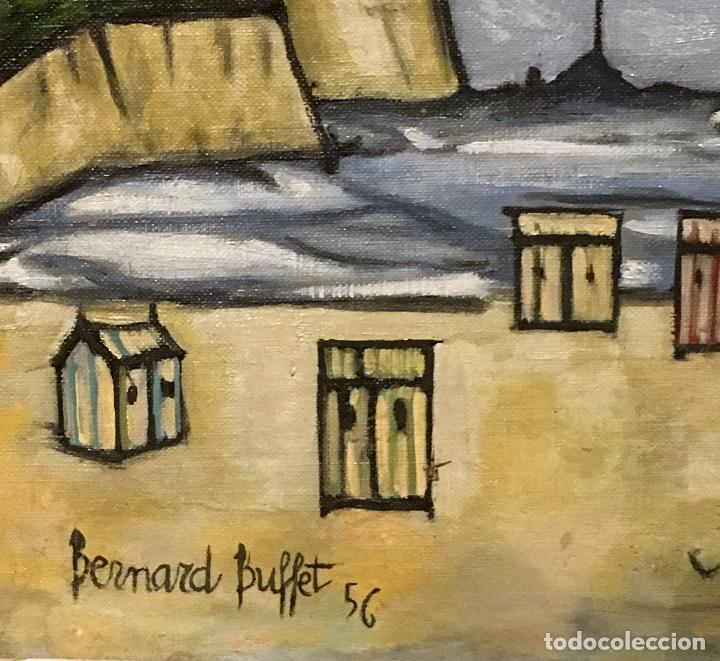 Arte: Copia del cuadro de Bernard Buffet: La Playa - Foto 4 - 116029311