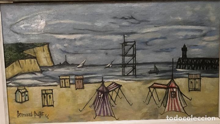 Arte: Copia del cuadro de Bernard Buffet: La Playa - Foto 5 - 116029311