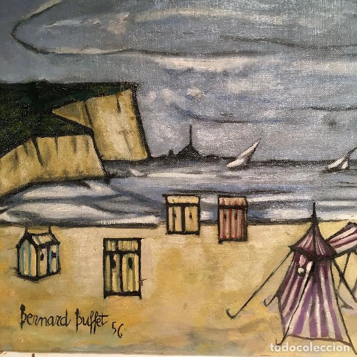 Arte: Copia del cuadro de Bernard Buffet: La Playa - Foto 8 - 116029311