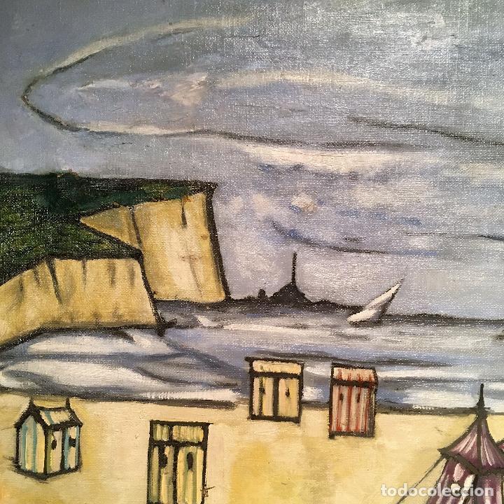 Arte: Copia del cuadro de Bernard Buffet: La Playa - Foto 9 - 116029311