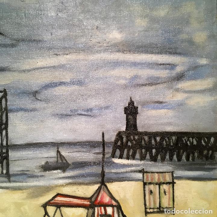 Arte: Copia del cuadro de Bernard Buffet: La Playa - Foto 12 - 116029311