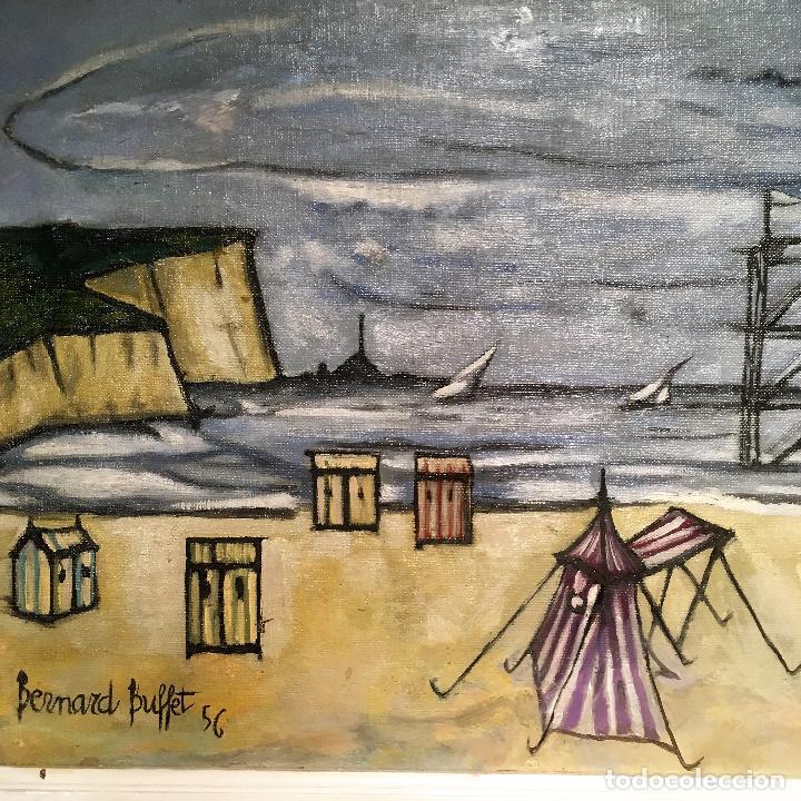 Arte: Copia del cuadro de Bernard Buffet: La Playa - Foto 14 - 116029311