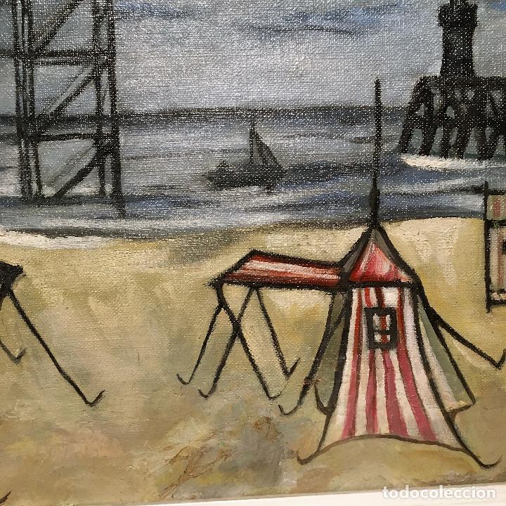 Arte: Copia del cuadro de Bernard Buffet: La Playa - Foto 16 - 116029311