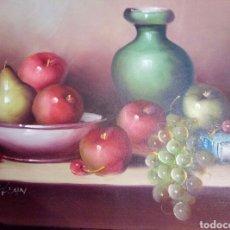 Arte: PRECIOSO BODEGON ,OLEO, FIRMADO. Lote 116179931