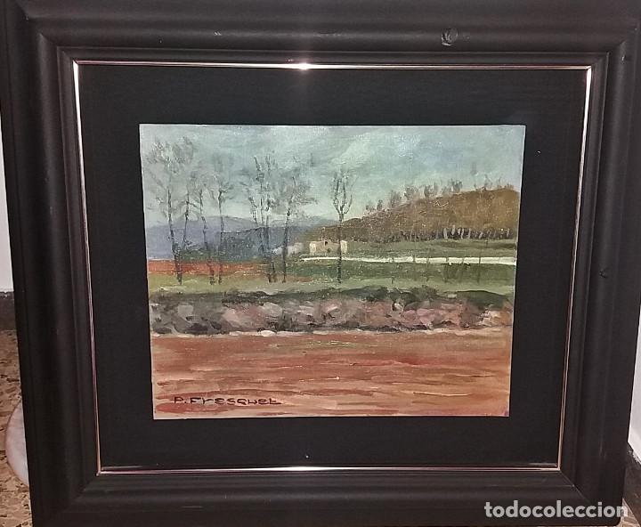 OLEO S/TABLEX 27X22 MARCO 32X38 - PAISAJE - PASCUAL FRESQUET ALMURIN (Arte - Pintura - Pintura al Óleo Contemporánea )