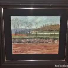 Arte - OLEO S/TABLEX 27X22 MARCO 32X38 - PAISAJE - PASCUAL FRESQUET ALMURIN - 116190915
