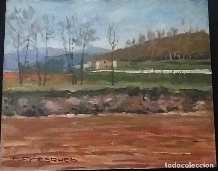 Arte: OLEO S/TABLEX 27X22 MARCO 32X38 - PAISAJE - PASCUAL FRESQUET ALMURIN - Foto 3 - 116190915