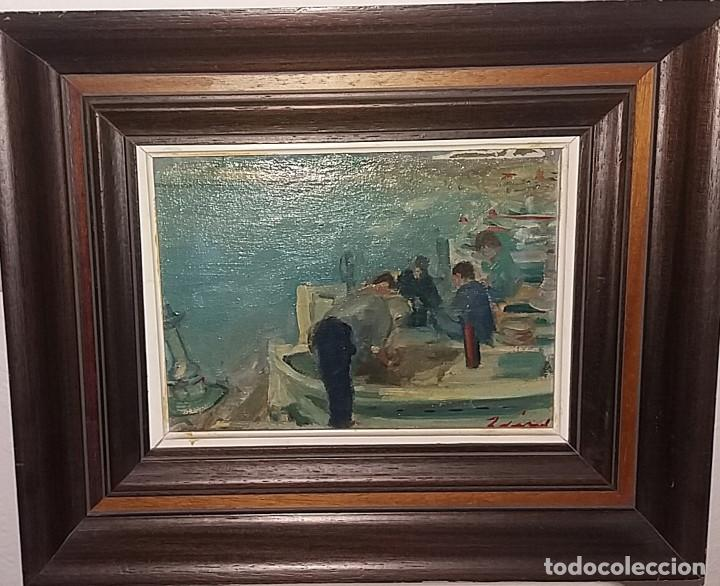 oleo s/tela 16x22 marco 28x34 - preparando las - Comprar Pintura al ...