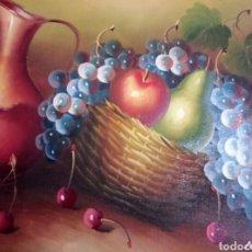 Arte: PRECIOSO BODEGON, OLEO, FIRMADO. Lote 116219108