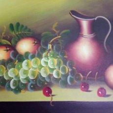 Arte: MUY DULCE BODEGON, OLEO, FIRMADO. Lote 116219355