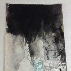 Arte: EL VIATGE DE UN...TÉCNICA MIXTA SOBRE CARTULINA. ALBERT GONZALO CARBÓ. 2004.. Lote 116319315
