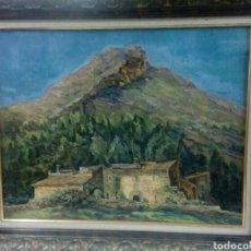 Arte: VIVES LLULL ÓLEO SOBRE LIENZO MALLORCA BALEARES MENORCA. Lote 116541308
