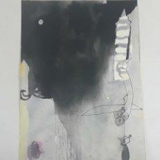Arte: EL VIATGE DE XUANZANG. TÉCNICA MIXTA SOBRE CARTULINA. A. GONZALO CARBÓ. 2004.. Lote 116593063
