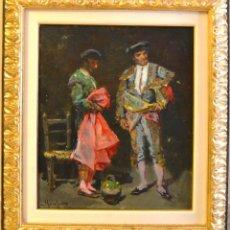 Arte: JOSEP SERRASANTA (BUENOS AIRES 1916- BARCELONA 1998) RETRATO TOREROS. Lote 115280567