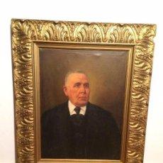 Arte - Oleo Sobre Lienzo Retrato Caballero Año 1910/ Arte - 116699067