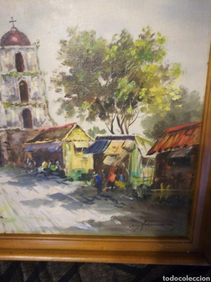 Arte: Óleo sobre lienzo, paisaje. - Foto 2 - 116717240