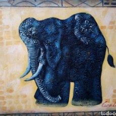 Arte: OLEO SOBRE LIENZO, FIRMADO. Lote 116725904