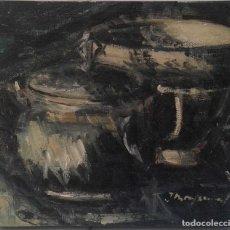 Arte: QUIM MONTSERRAT CAMPS. PINTOR NACIDO EN SABADELL EN 1932.. Lote 116790479