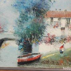 Arte: FRANCISCO MORENO ORTEGA (PACO MORENNO).MÁLAGA 1931ÓLEO FIRMADO DE 22X27 ENMARCADO EN 44X49. Lote 116819059