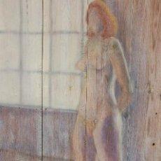 Arte: P. BUSBY. ÓLEO SOBRE TABLAS DE 67X102 ENMARCADO EN 81X117 (GRAN TAMAÑO). Lote 116825939