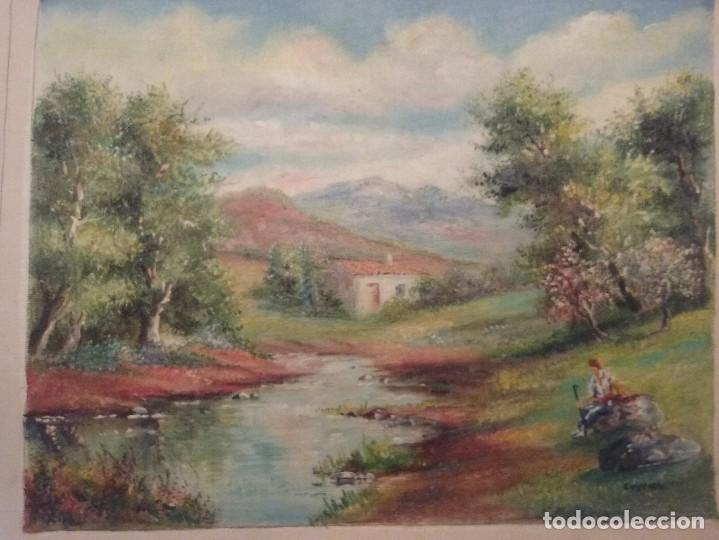 OLEO LIENZO (Arte - Pintura - Pintura al Óleo Contemporánea )
