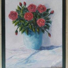 Arte: JAUME BASIANA TRAPÉ (MANRESA 1961-2007) - OLEO SOBRE TELA ENMARCADO 65 X 55 - CERTIFICADO. Lote 116854967