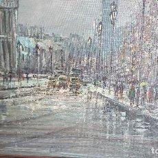 Arte - OLEO SOBRE LIENZO , ESCENA PARISINA - 116863803