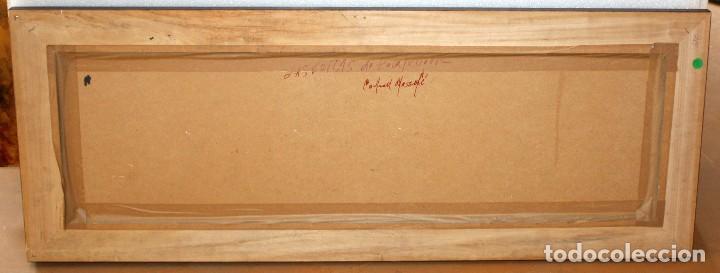 Arte: FRANCISCO CARBONELL MASSABÉ (BARCELONA,1928) OLEO CARTON. LES VOLTES DE CALELLA DE PALAFRUGELL - Foto 9 - 116867315