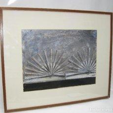 Arte: CUADRO PINTURA 88X73 CARMEN GRAU OBRA ORIGINAL HIJA JOSE GRAU, ARTE CONTEMPORANEO, IVAM. Lote 116870299