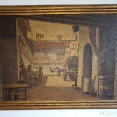 Arte: EXCELENTE PINTURA FIRMADA A.RUIZ (1892-1964). Lote 116874003
