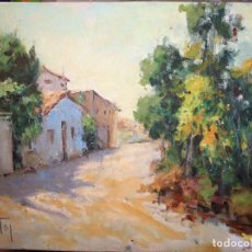 Arte: ENCARNA TEN. PINTORA VALENCIANA. OLEO SOBRE TABLA. ORIGINAL.. Lote 116932475