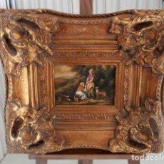 Arte: 3 OLEOS SOBRE TABLA FIRMADOS POR DETRAS ENMARCADOS EN LONDRES. Lote 117061367