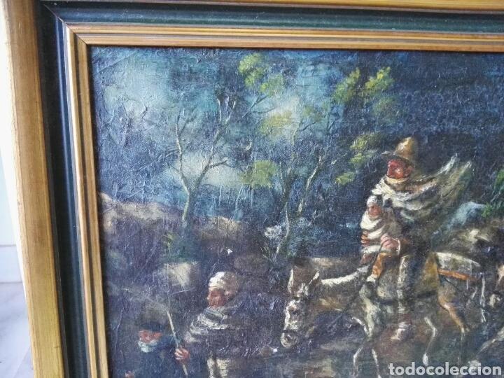 Arte: Espectacular Cuadro oleo sobre lienzo sin firma - Foto 2 - 117160592
