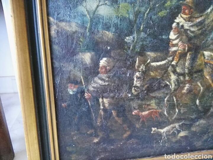 Arte: Espectacular Cuadro oleo sobre lienzo sin firma - Foto 3 - 117160592
