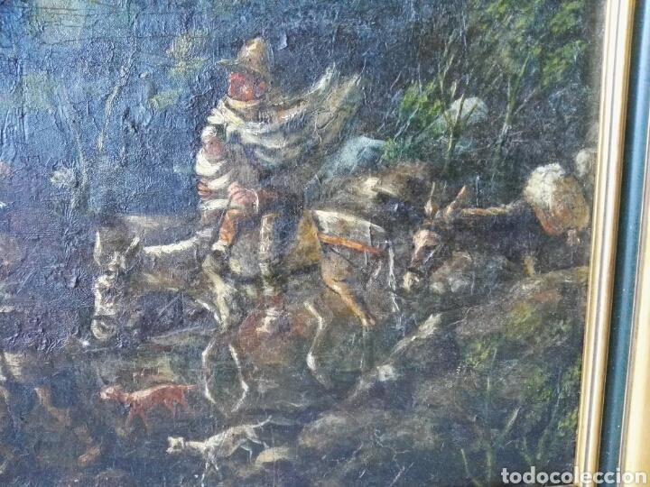 Arte: Espectacular Cuadro oleo sobre lienzo sin firma - Foto 4 - 117160592