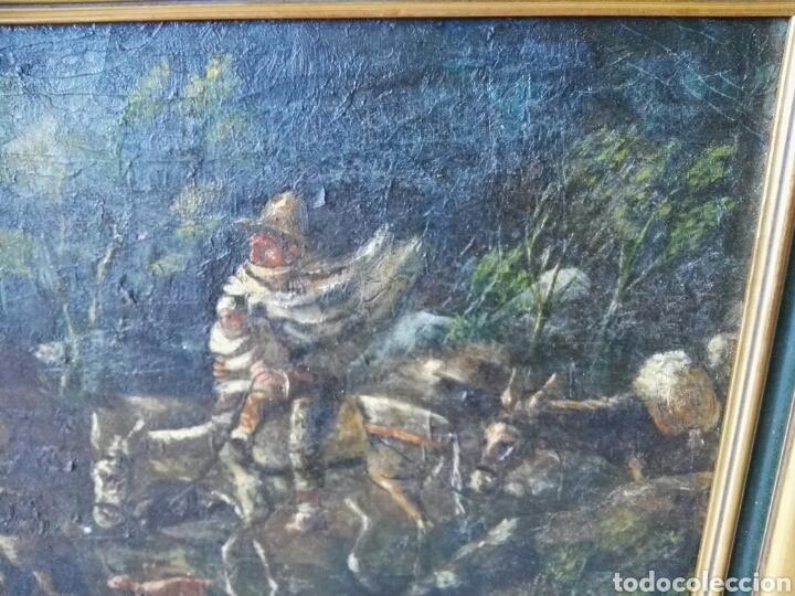 Arte: Espectacular Cuadro oleo sobre lienzo sin firma - Foto 7 - 117160592