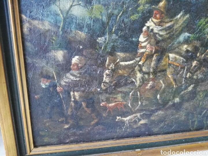 Arte: Espectacular Cuadro oleo sobre lienzo sin firma - Foto 9 - 117160592