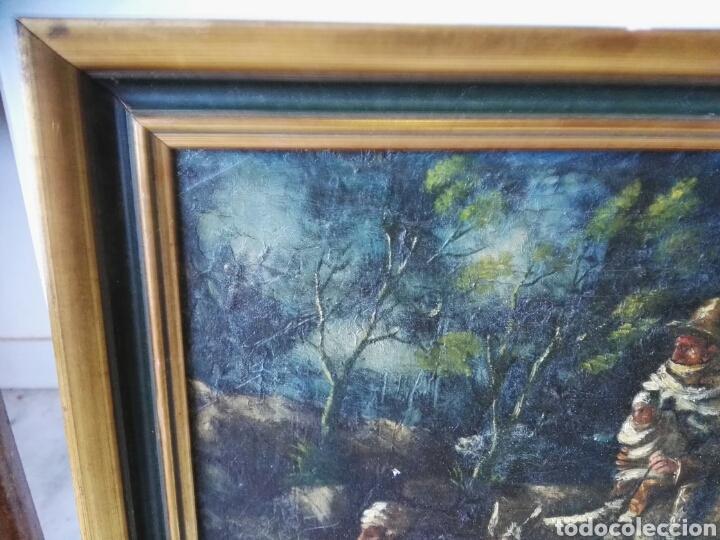 Arte: Espectacular Cuadro oleo sobre lienzo sin firma - Foto 12 - 117160592